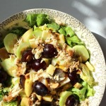 Hearty Butter Lettuce, Fruit, and Tuna Salad