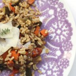Mediterranean Veggies and Rice – Quick and Easy