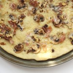 Mushroom and Prosciutto Flatbread – for AJ