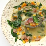 Ham and Greens Chowder