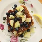 Fresh Fruit and Basil Stuffed French Toast