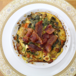 Bacon and Feta Frittatas