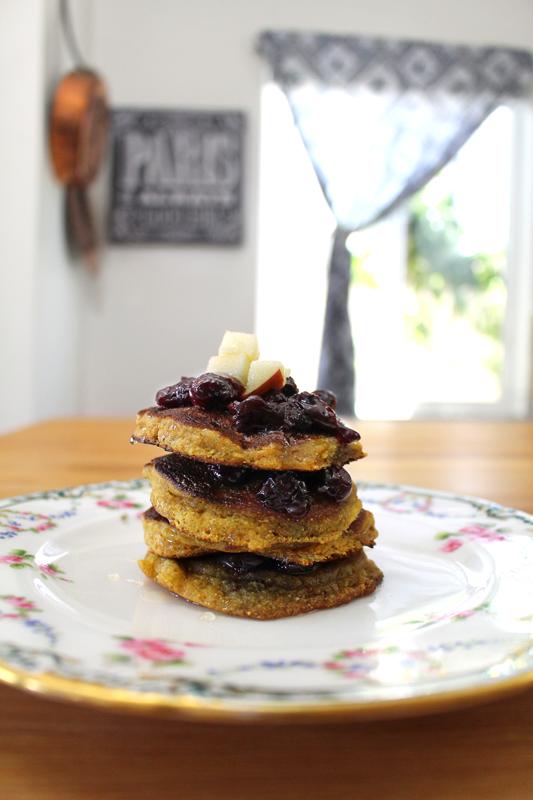 Chamomile and Honey Pancakes
