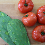 Nopales and Tomato Relish