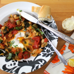 Veggie and Garbonzo Bean Shakshuka