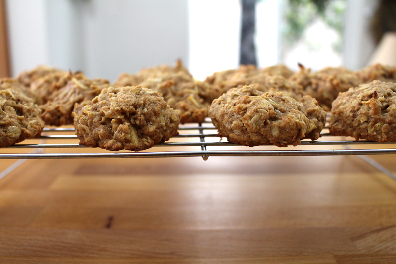 Whole Wheat Parsnip Cookies