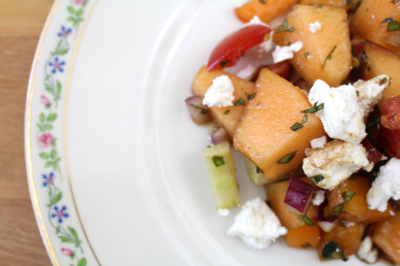 Melon and Feta Salad