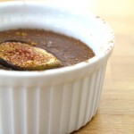Salted Chocolate and Roasted Fig Pudding