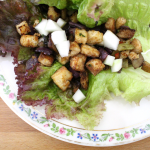 Tofu and Eggplant Lettuce Wraps