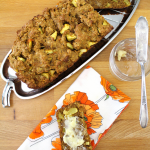 Persimmon Apple Bread