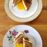 Grilled Egg and Cheese Sandwiches
