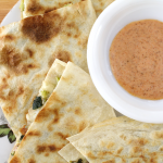 Hearty Kale and White Bean Quesadillas