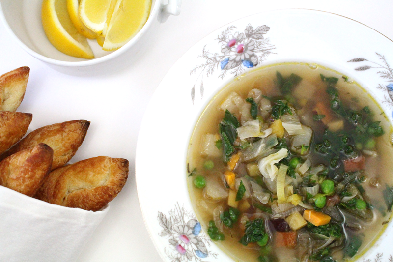 Chunky Vegetable Soup
