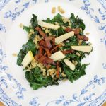 Kale and Farro Salad with Bacon